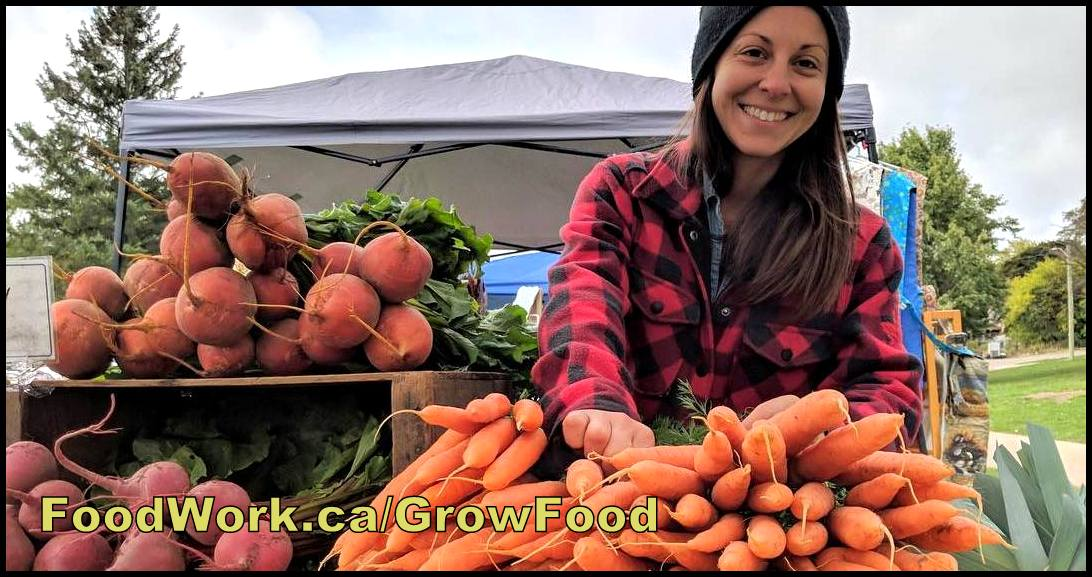 FoodWork.ca: Sustainable & organic farming, market gardening, homesteading, urban agriculture (jobs, internships & self employment)