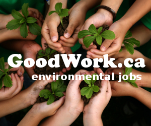 Environmental jobs: GoodWork.ca