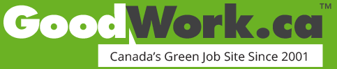 Environmental jobs | GoodWork.ca